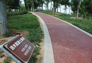 四川彩色混凝土路面