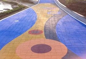 云南彩色沥青路面