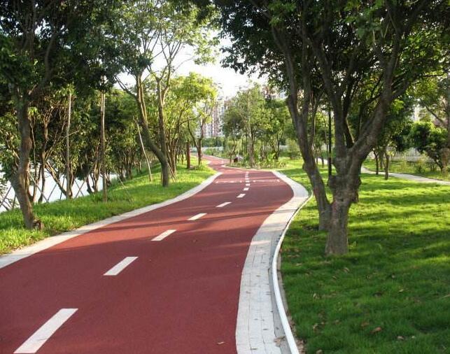 彩色沥青路面施
